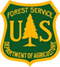 Green and yellow Forest Service logo