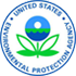 Blue and green EPA logo