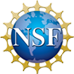 Blue, gold and white NSF logo
