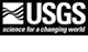 Brown and white USGS logo