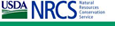 Blue and green NRCS logo